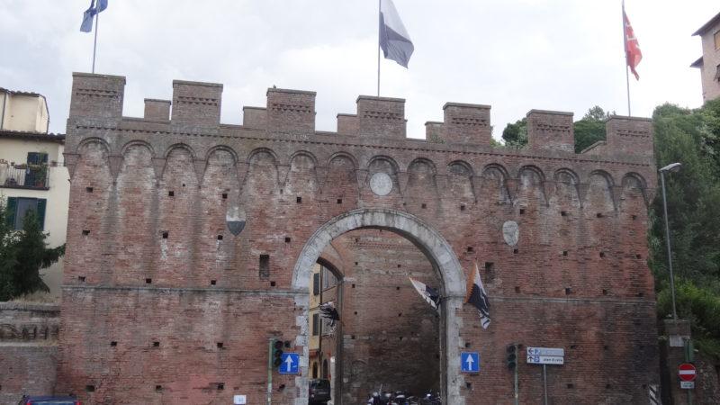 Porte Più Belle Di Siena: La Porta Ovile